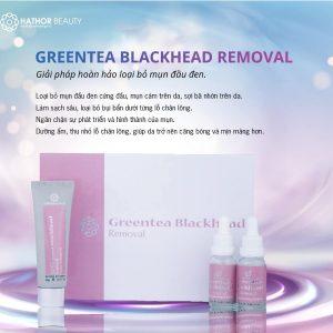 greentea blackhead removal hathor beauty 2